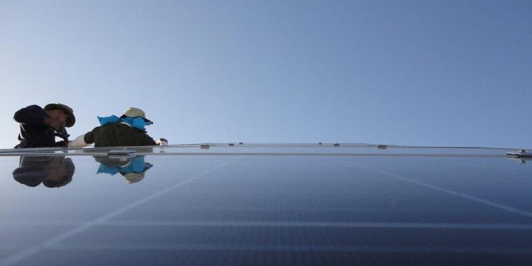 Jak mogłaby wyglądać przykładowa fotowoltaika AVIA Solar.