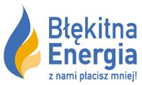Logo firmy Błękitna Energia