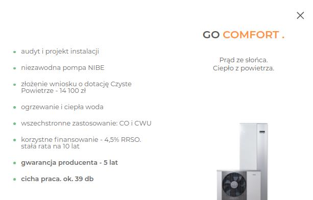 Columbus - oferta Go Comfort