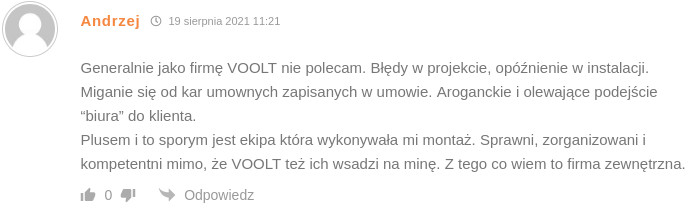 Drugi komentarz Pana Andrzeja.