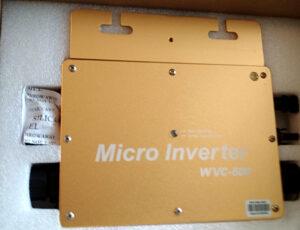 Mikroinwerter do zestawu fotowoltaicznego.