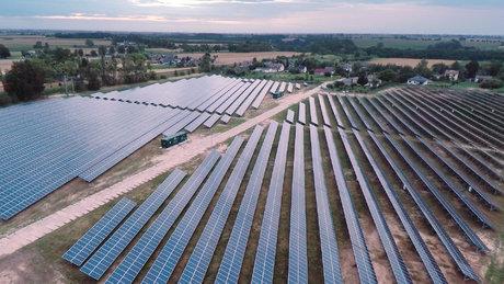 Farma fotowoltaiczna firmy Energa w Czernikowie