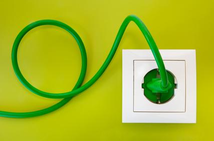 energia i prąd - gniazdko