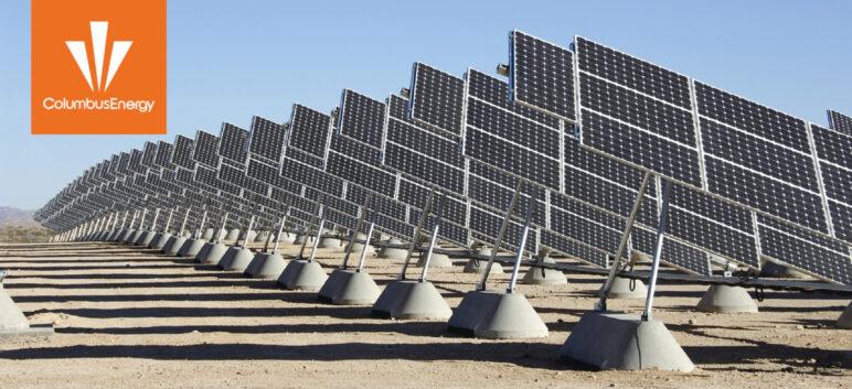 Przykładowa fotowoltaika Columbus Energy 2020.