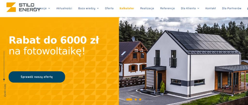 Fotowoltaika - promocja na 6000 zł od Stilo Energy.