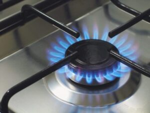 jeden palnik kuchenki gazowej