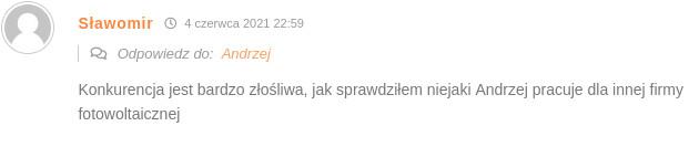 Komentarz Pana Sławomira.