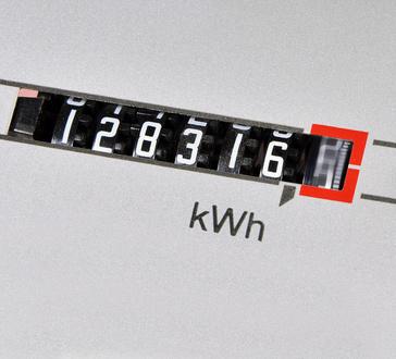 odczyt kWh z licznika energii elektrycznej