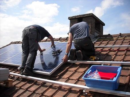 panele słoneczne - mój prąd