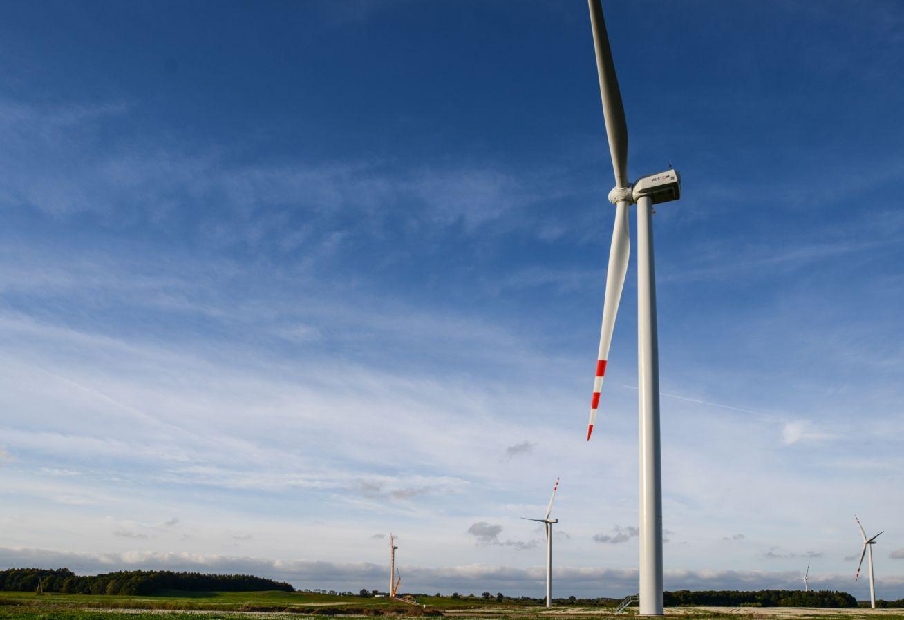 PGE farma wiatrowa Lotnisko