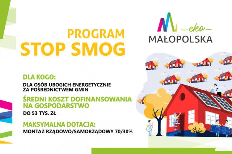 Program Stop Smog - małopolskie