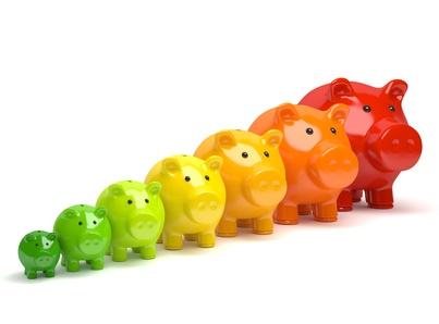 energooszczędne świnki skarbonki